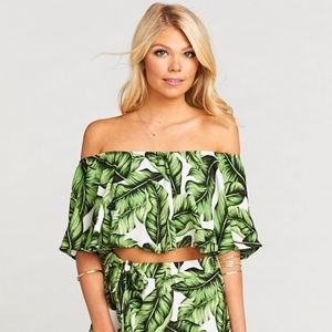 Show Me Your Mumu Heidi Frond of You Top Small